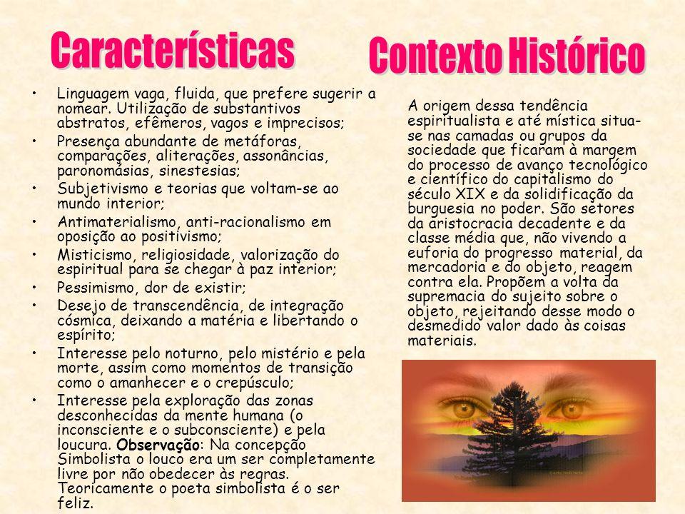 Características Contexto Histórico