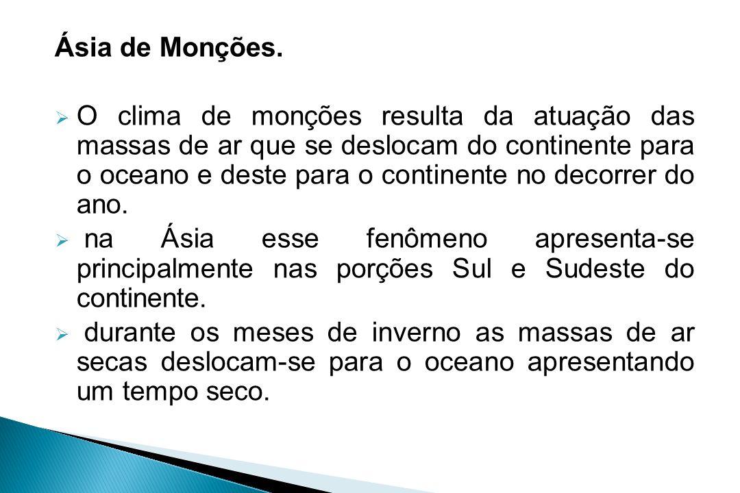 Ásia de Monções.