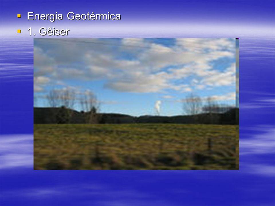Energia Geotérmica 1. Gêiser