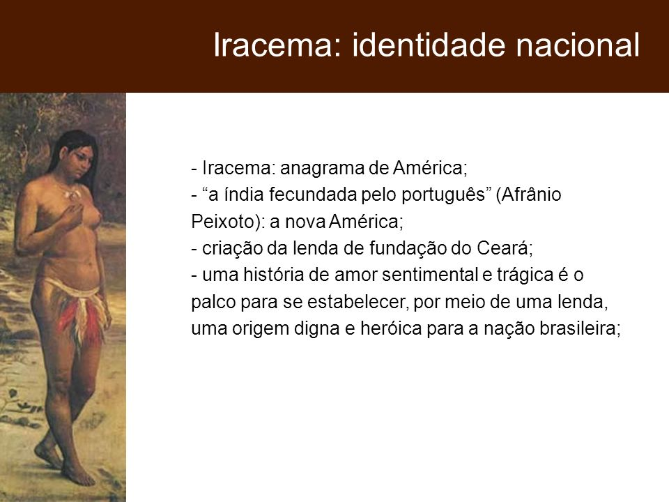 Iracema: identidade nacional
