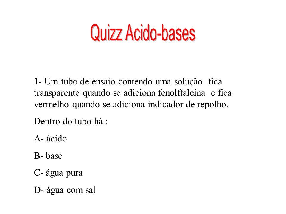 Quizz Acido-bases