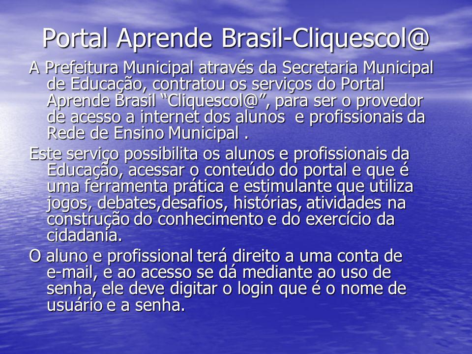Portal Aprende Brasil-Cliquescol@