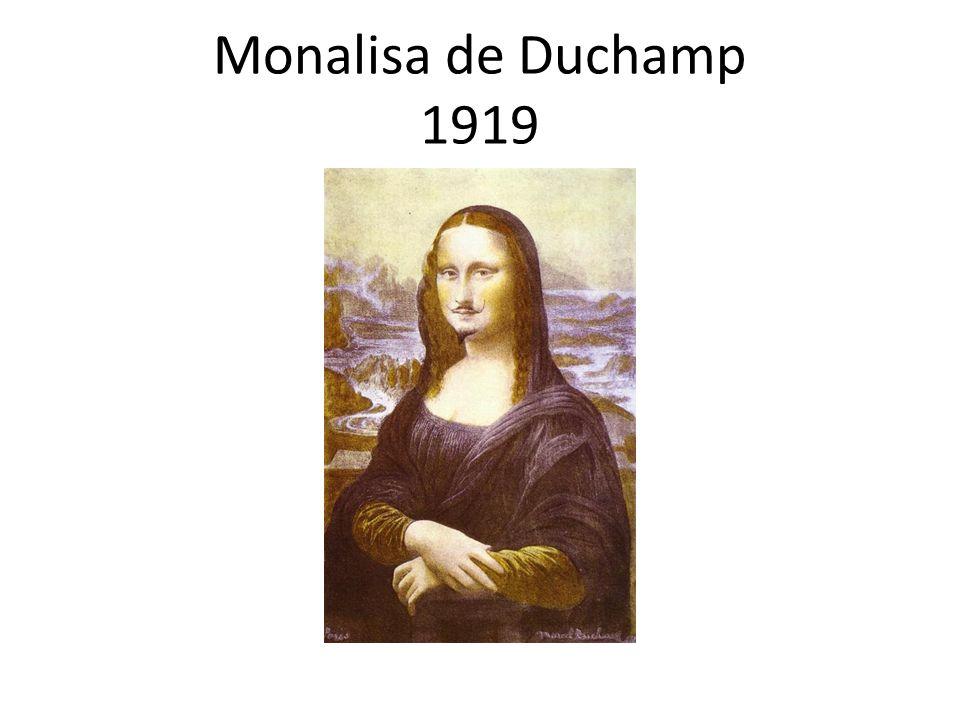 Monalisa de Duchamp 1919