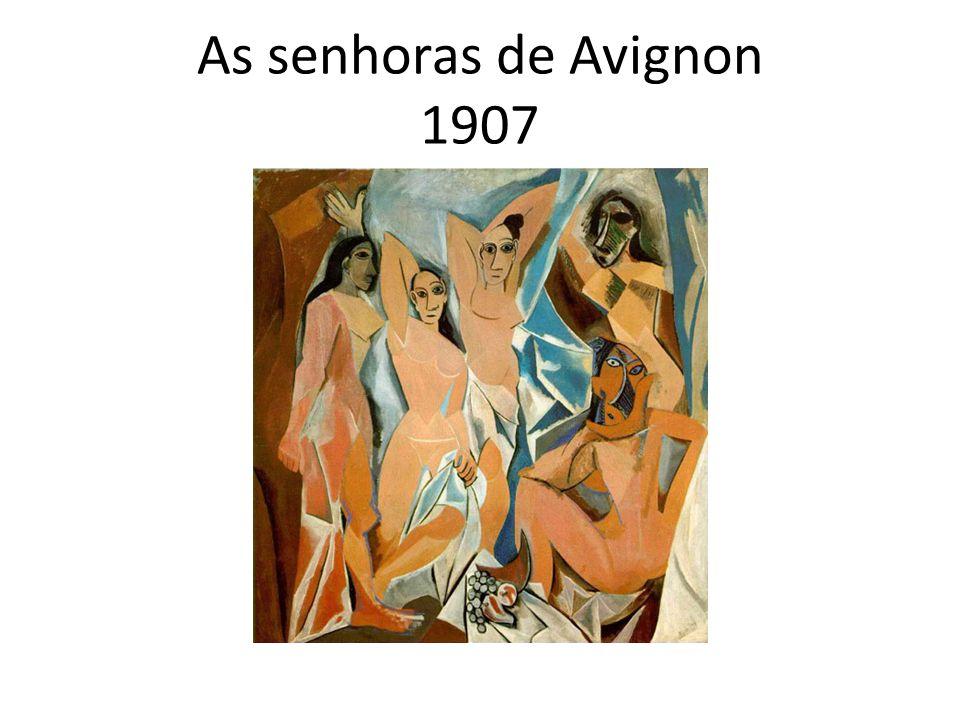As senhoras de Avignon 1907