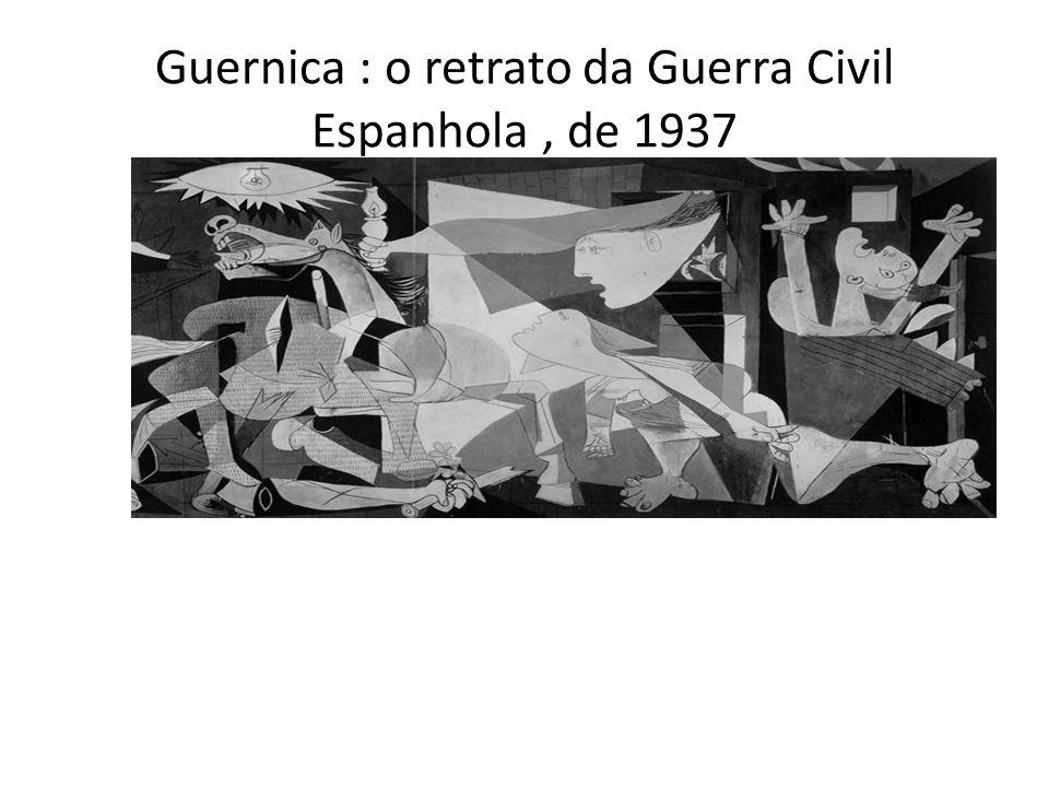 Guernica : o retrato da Guerra Civil Espanhola , de 1937