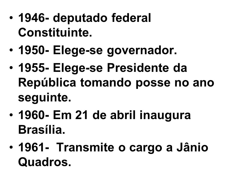 1946- deputado federal Constituinte.