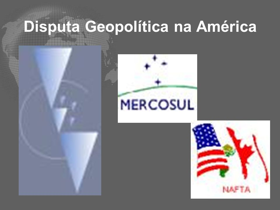 Disputa Geopolítica na América