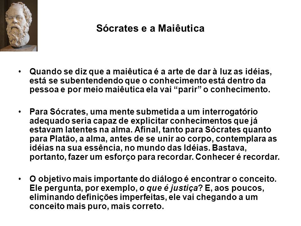 Sócrates e a Maiêutica