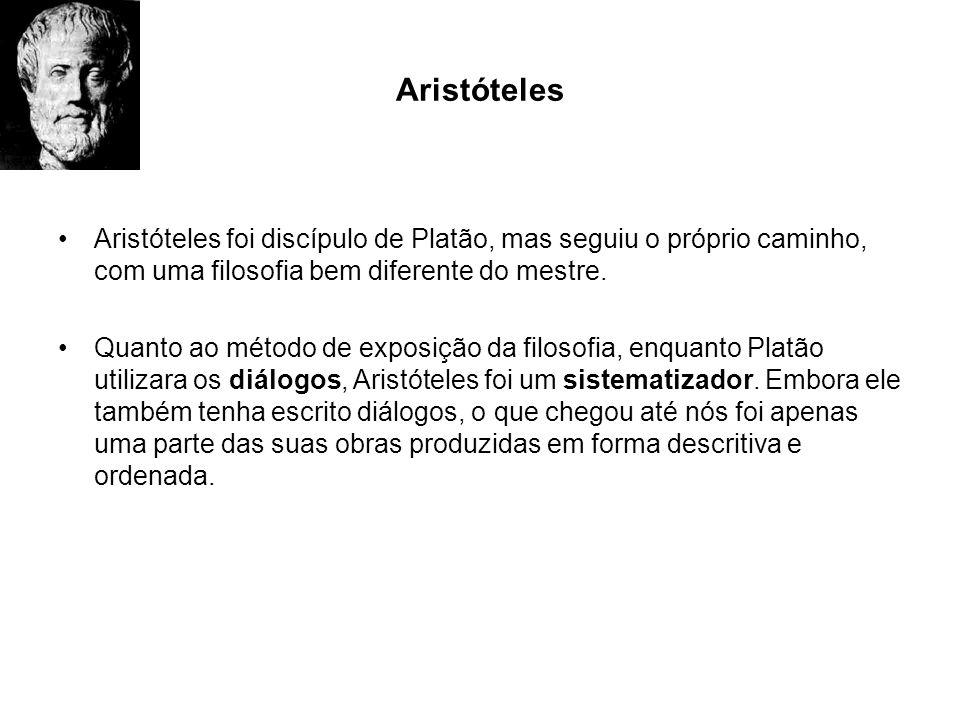 AristótelesAristóteles foi discípulo de Platão, mas seguiu o próprio caminho, com uma filosofia bem diferente do mestre.