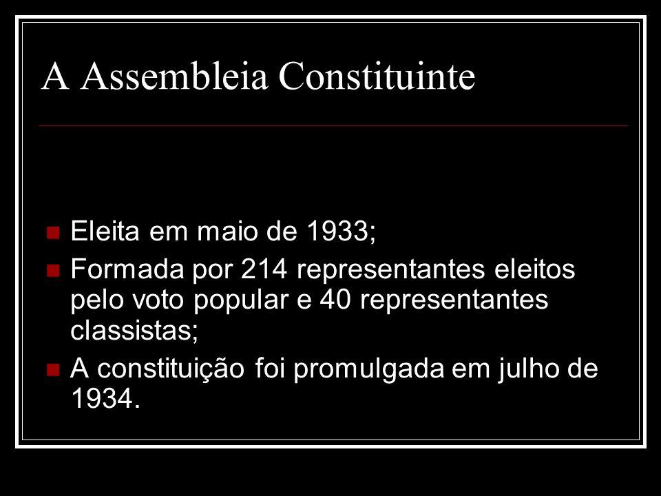 A Assembleia Constituinte