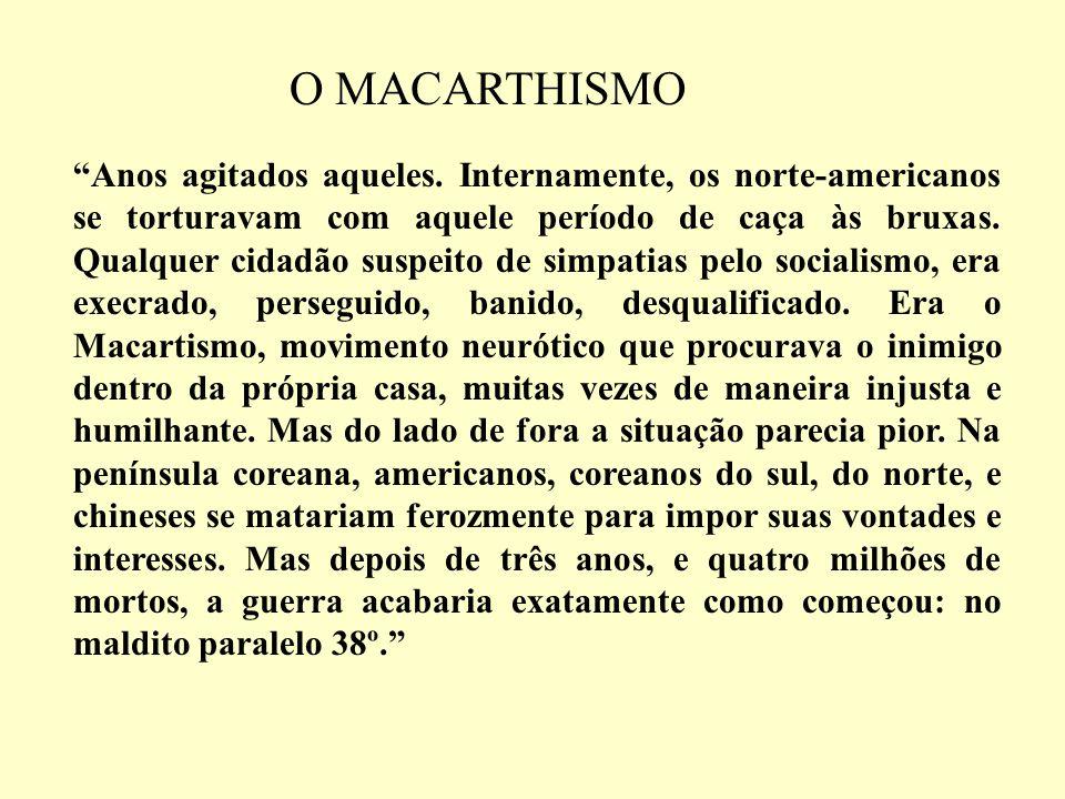 O MACARTHISMO