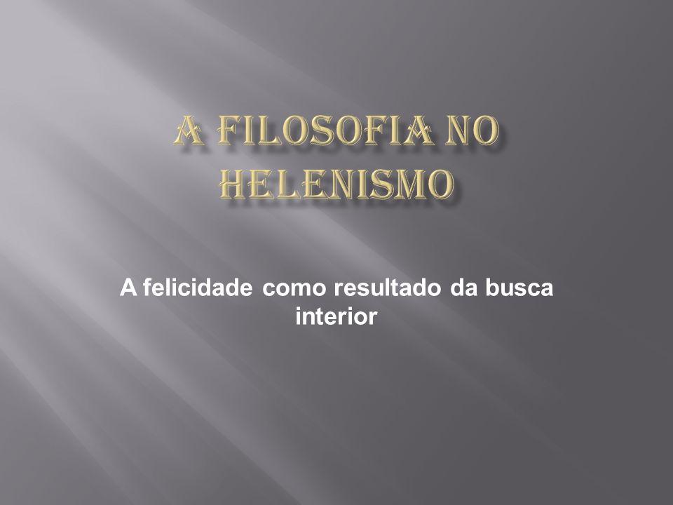 A filosofia no helenismo