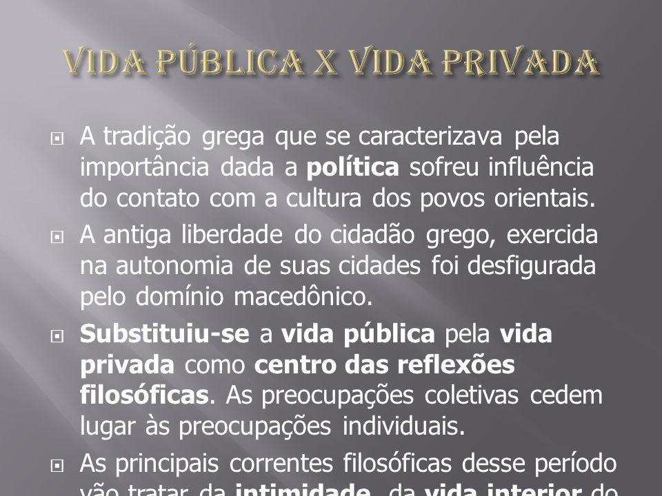Vida pública X Vida privada