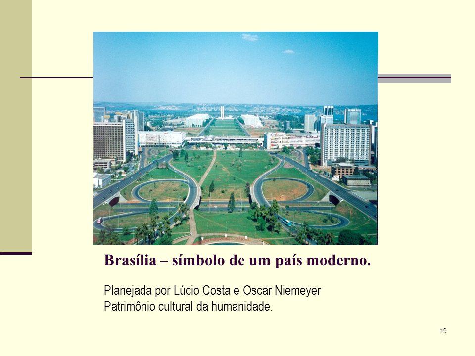 Brasília – símbolo de um país moderno.