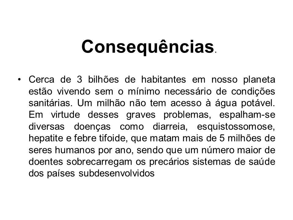Consequências.
