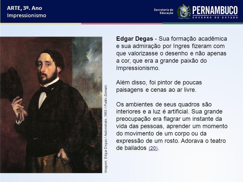 Além disso, foi pintor de poucas paisagens e cenas ao ar livre.