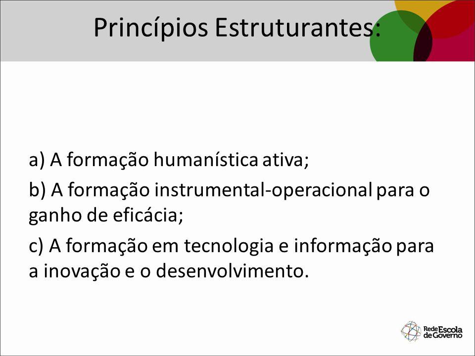 Princípios Estruturantes: