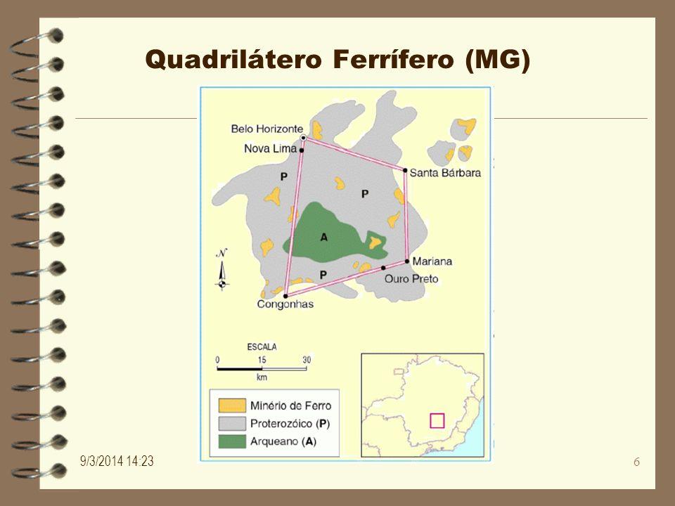 Quadrilátero Ferrífero (MG)