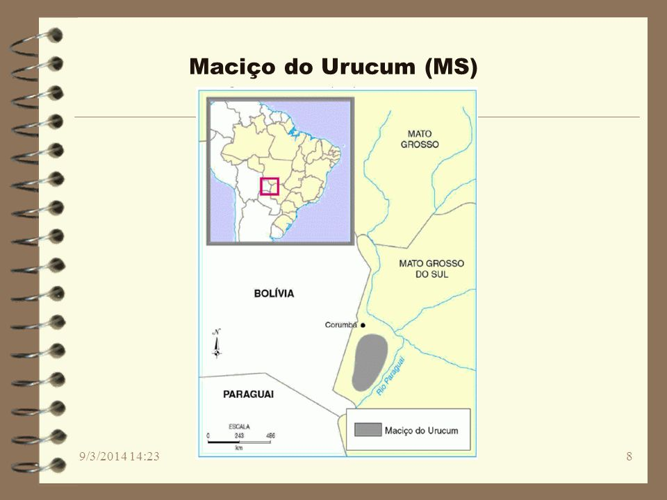 Maciço do Urucum (MS) 26/03/2017 02:30