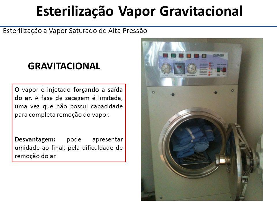 Esterilização Vapor Gravitacional