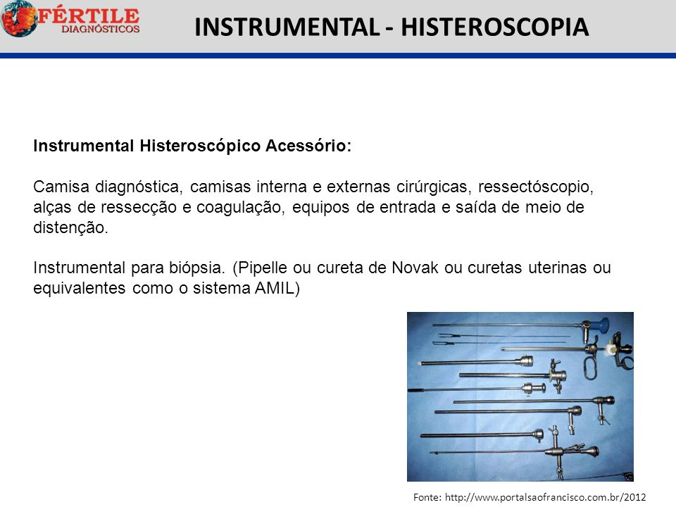 INSTRUMENTAL - HISTEROSCOPIA