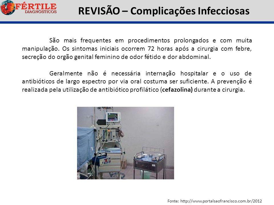REVISÃO – Complicações Infecciosas