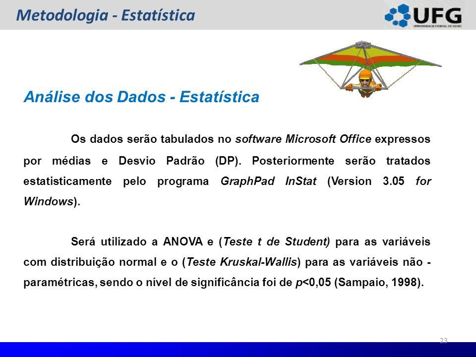 Metodologia - Estatística