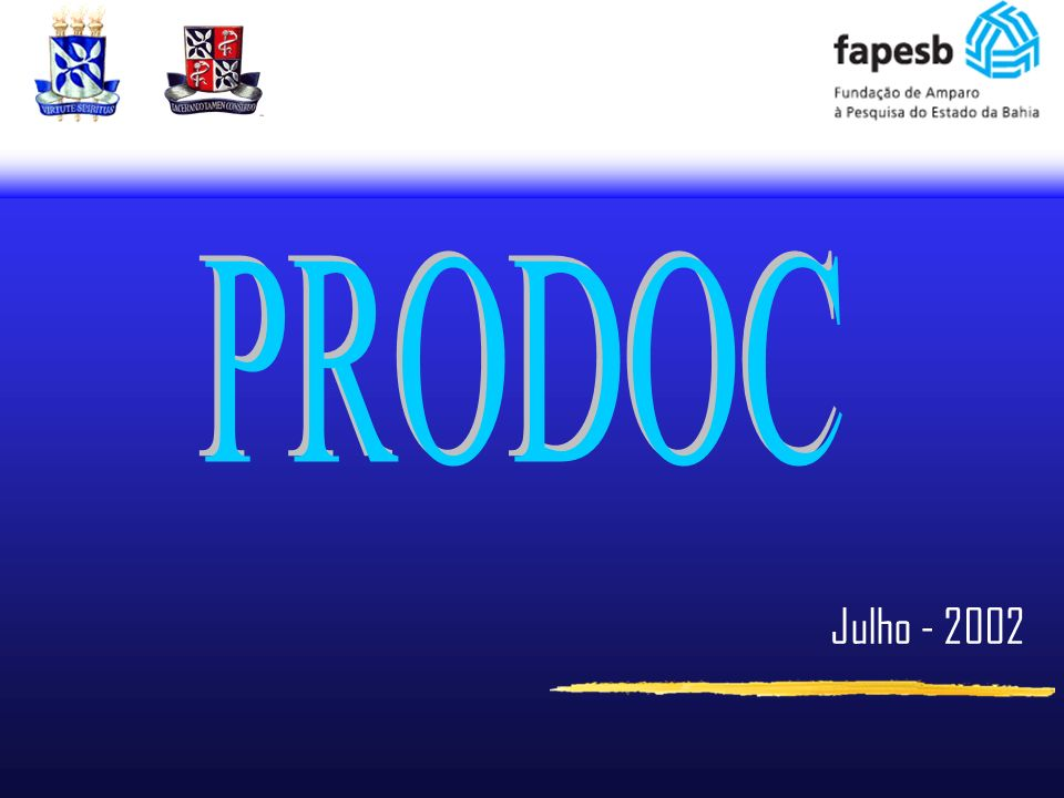 PRODOC Julho - 2002