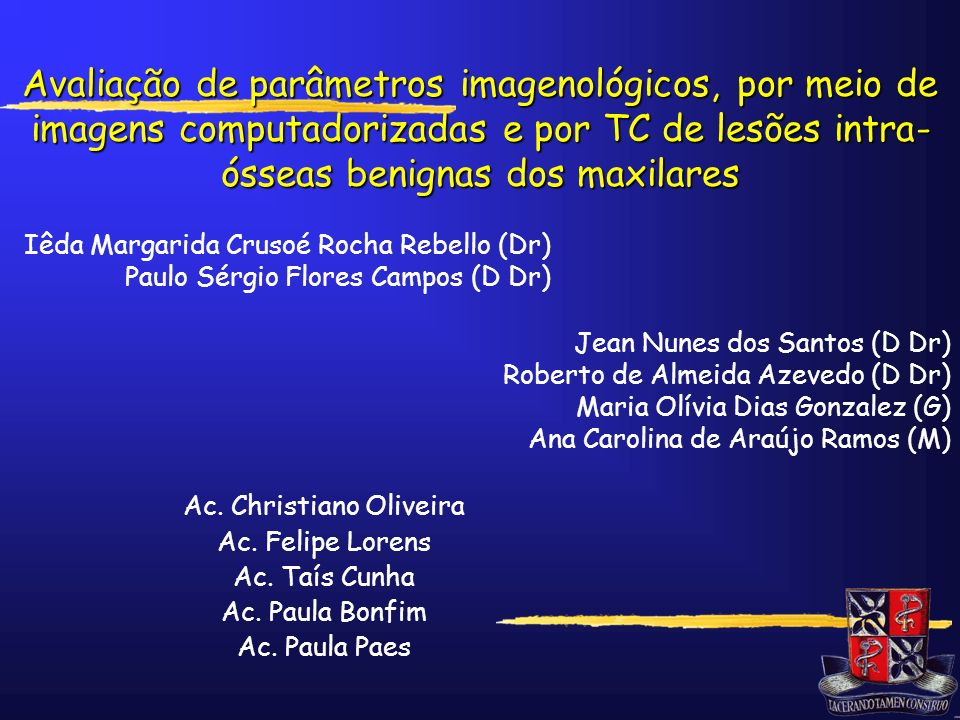 Ac. Christiano Oliveira
