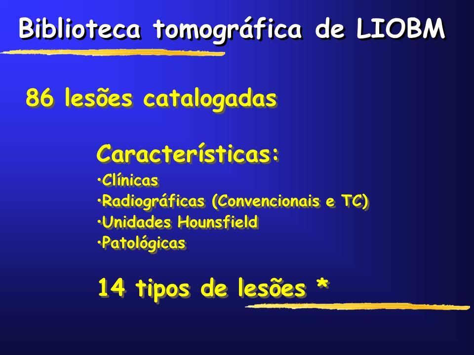 Biblioteca tomográfica de LIOBM