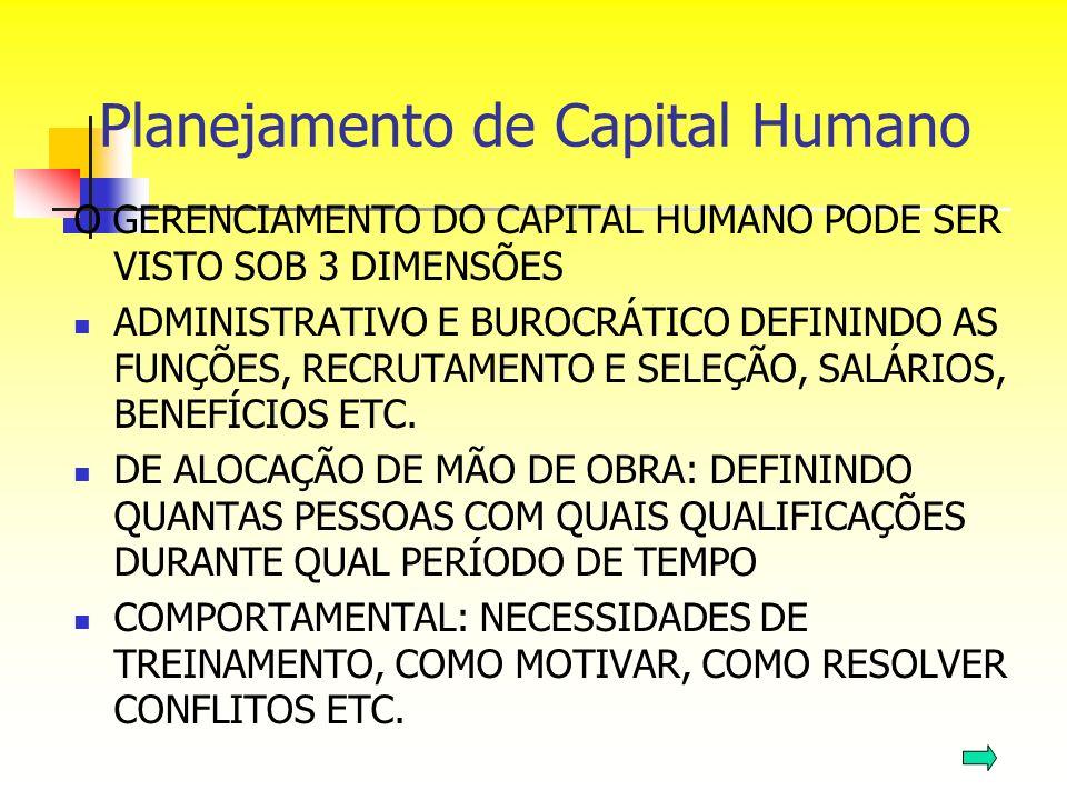 Planejamento de Capital Humano