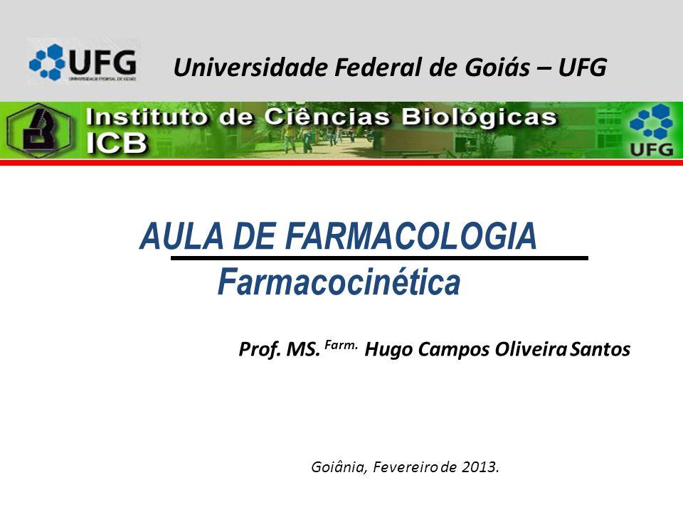 AULA DE FARMACOLOGIA Farmacocinética