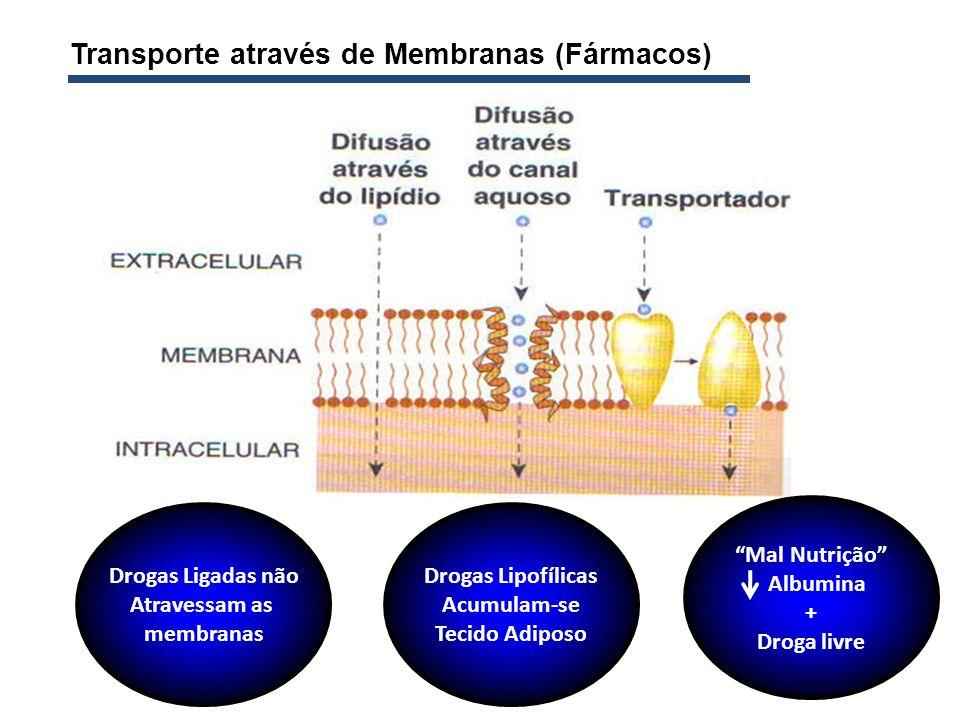 Transporte através de Membranas (Fármacos)