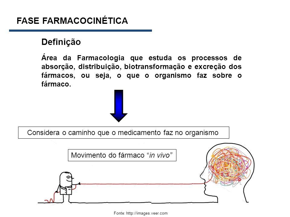 FASE FARMACOCINÉTICA Definição