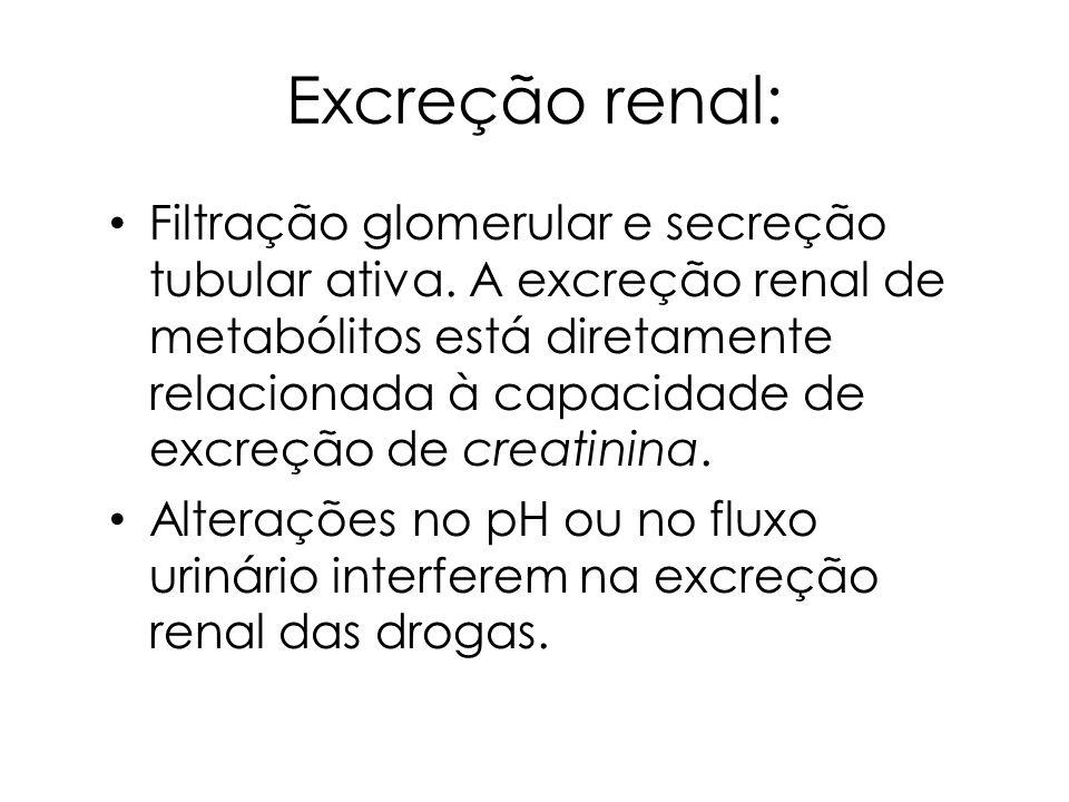 Excreção renal: