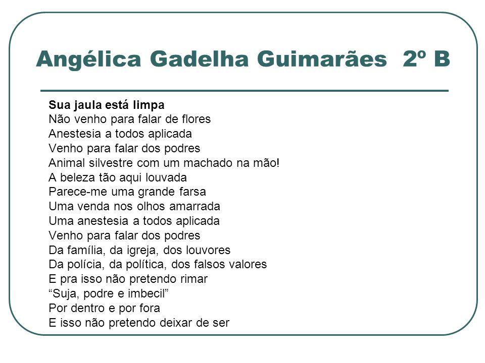 Angélica Gadelha Guimarães 2º B