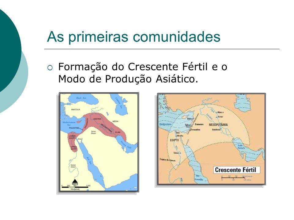 As primeiras comunidades