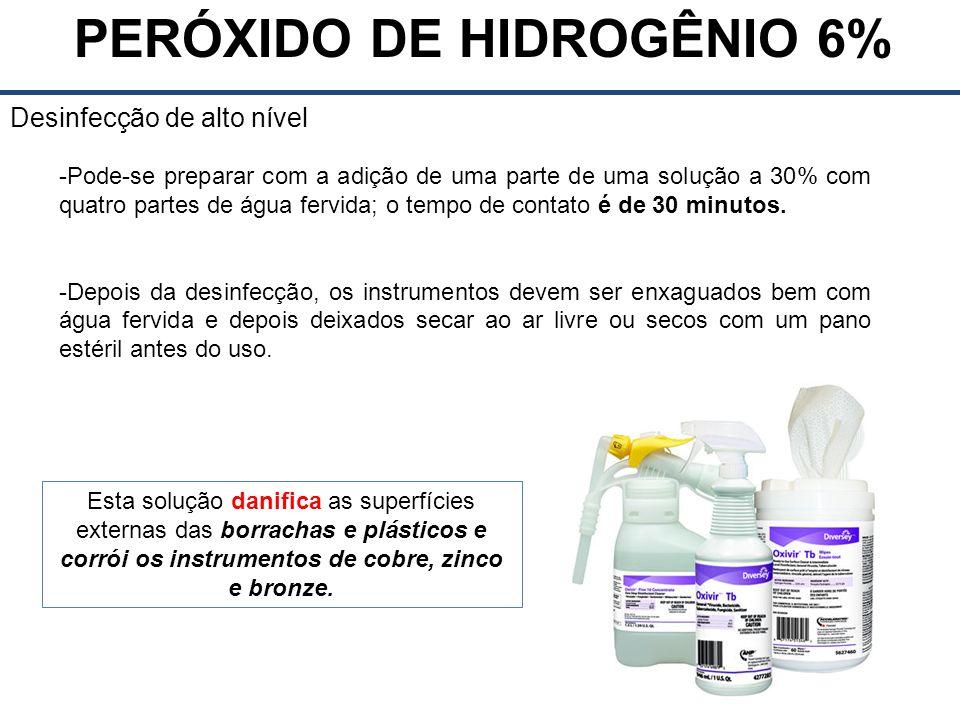 PERÓXIDO DE HIDROGÊNIO 6%