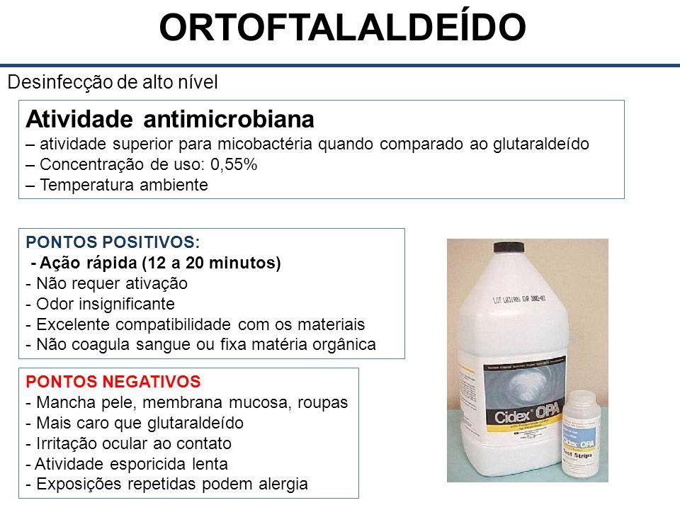 Atividade antimicrobiana