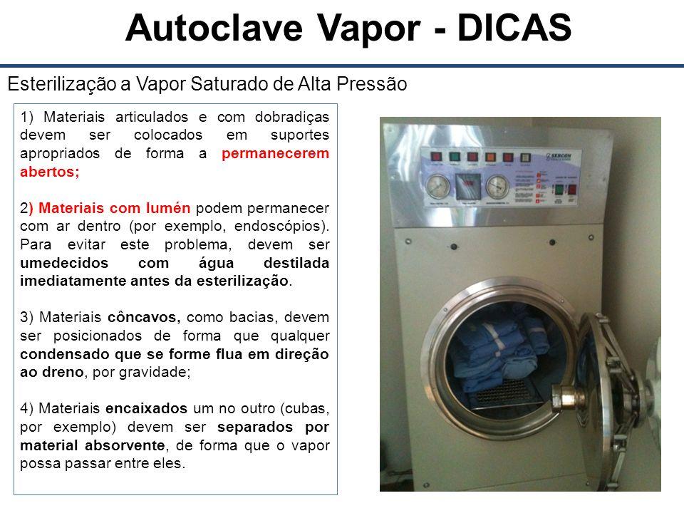 Autoclave Vapor - DICAS