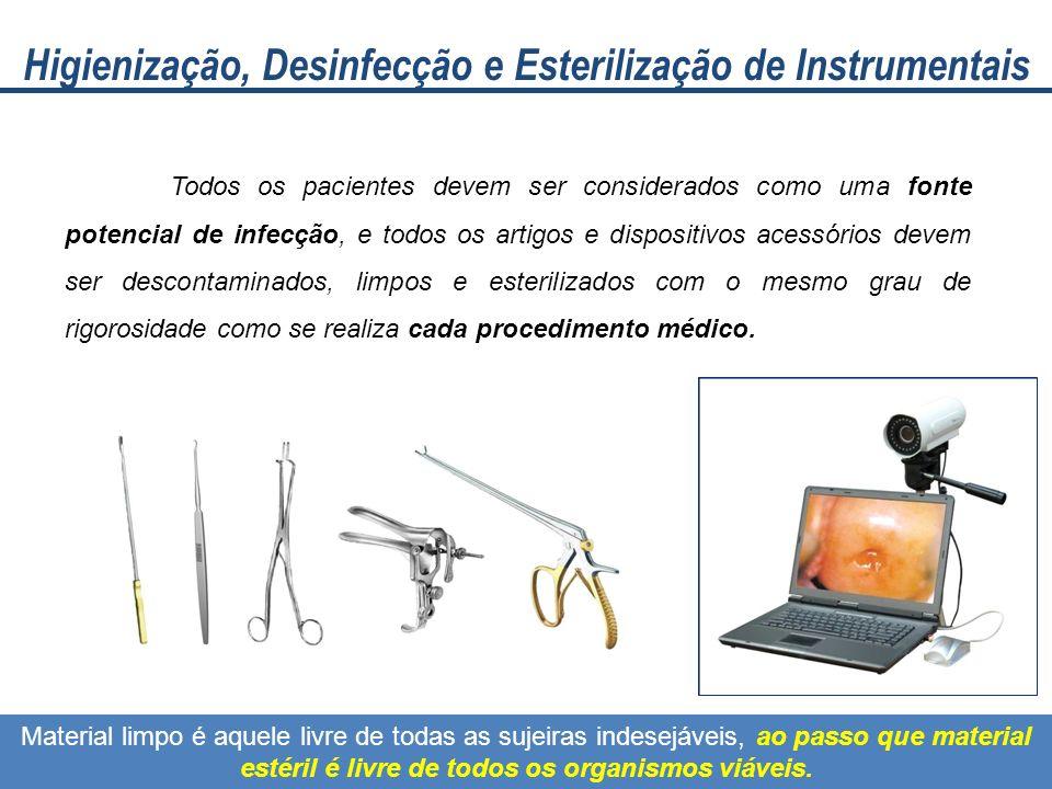 Higienização, Desinfecção e Esterilização de Instrumentais