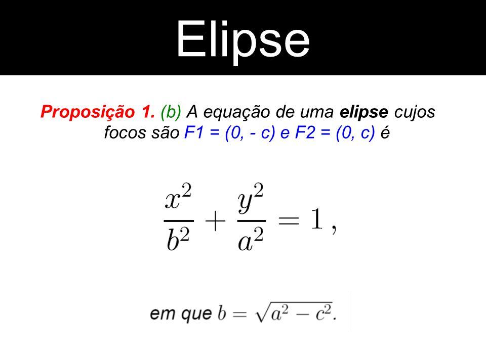 ElipseElipse.Proposição 1.