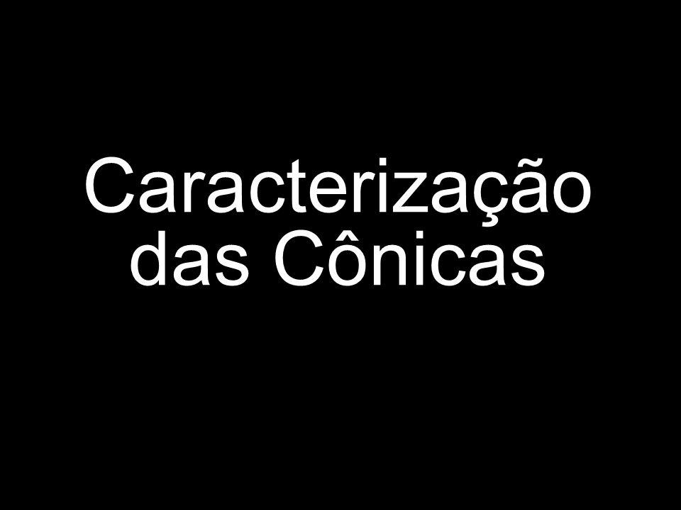 Caracterização das Cônicas