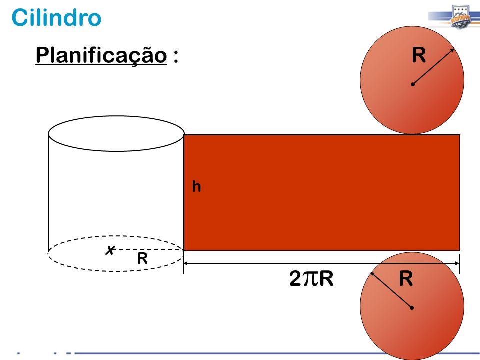 Planificação : R h x R 2pR R