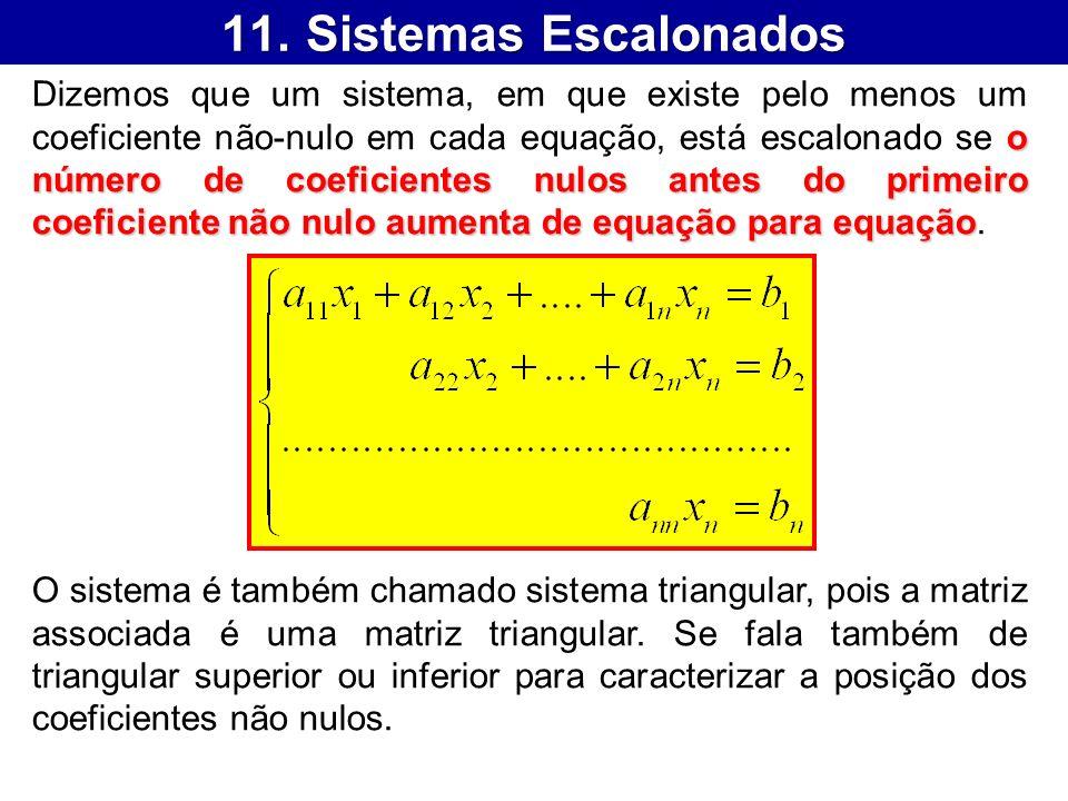 11. Sistemas Escalonados