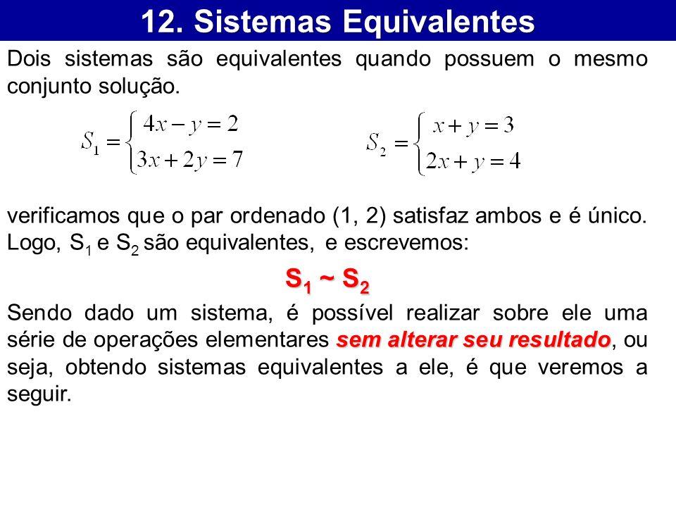 12. Sistemas Equivalentes