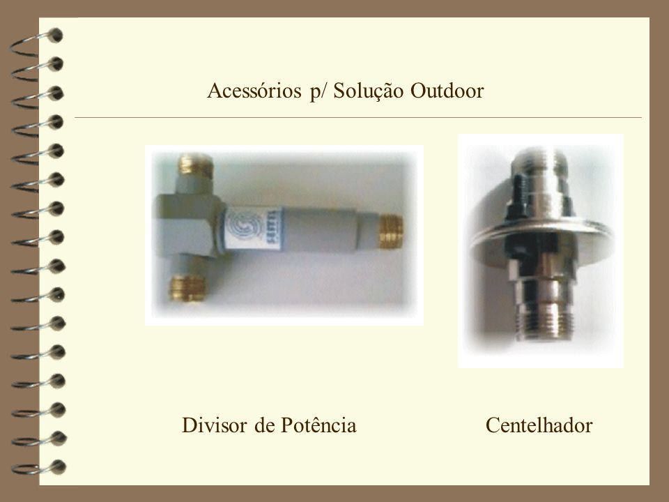 Acessórios p/ Solução Outdoor