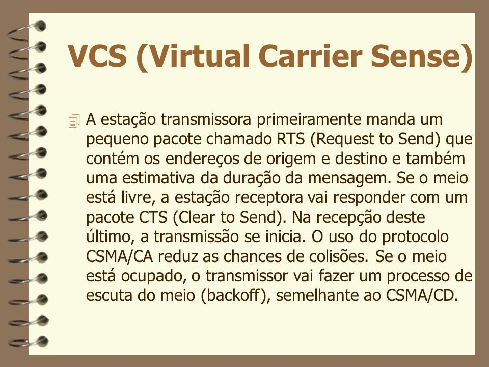 VCS (Virtual Carrier Sense)
