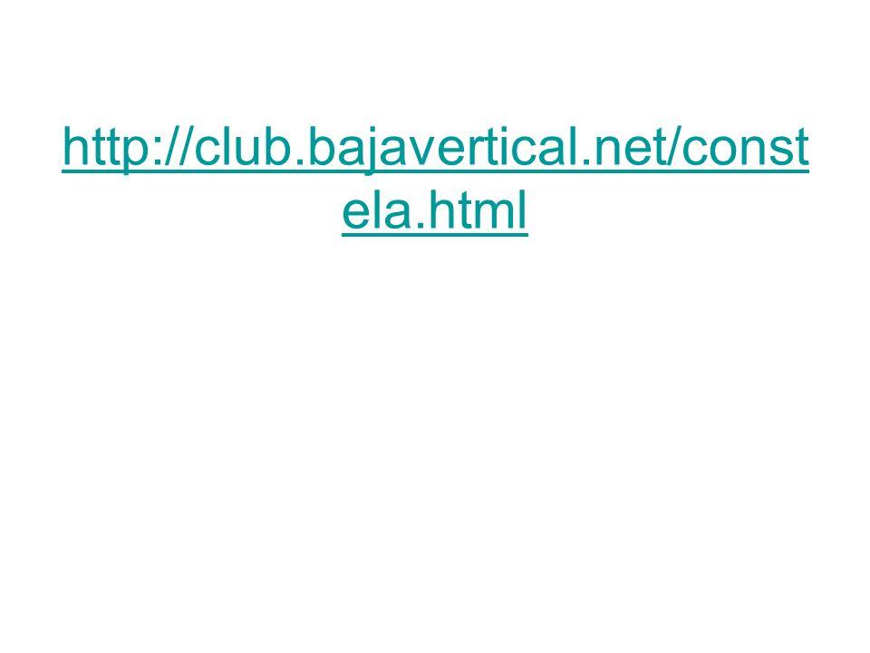 http://www. astrosurf. org/aav/constela. php http://club. bajavertical