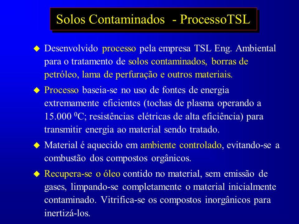 Solos Contaminados - ProcessoTSL